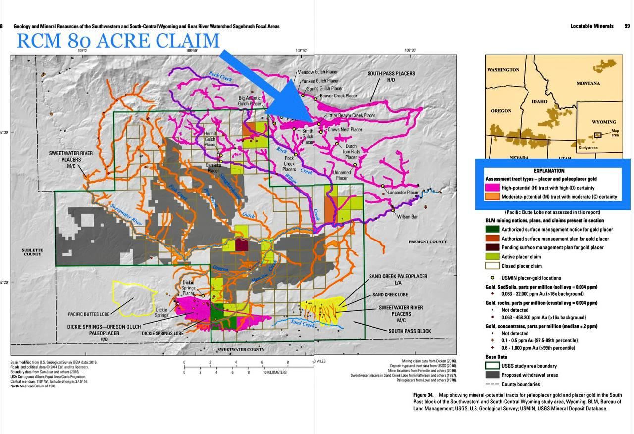 ROCK CREEK MINING WITLL BE MERGED INTO NWGC AND IT IS SMACK IN THE THICKEST PINK LINE...